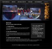 Lake Event Design Screenshot